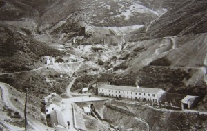 Minas volframio en Galicia